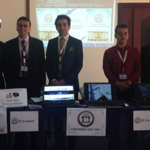 Center of IT in university day 2014